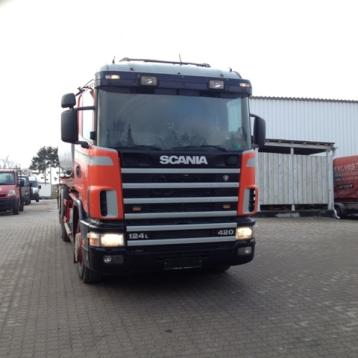 7156 - Tankbil - SCANIA - Type: 420 / 124L
