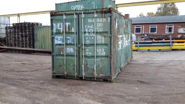 7351 - Container  20 fod